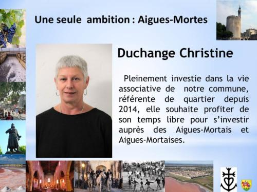 Christine DUCHANGE